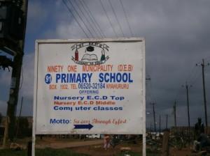 Sejour au Kenya du 24 Août 2011 au 02 Septembre 2011