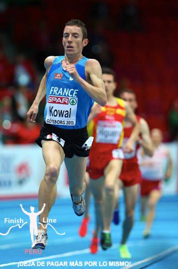 Yoann Kowal, parrain de FUNGANA remporte le 3000m steeple à Rabat