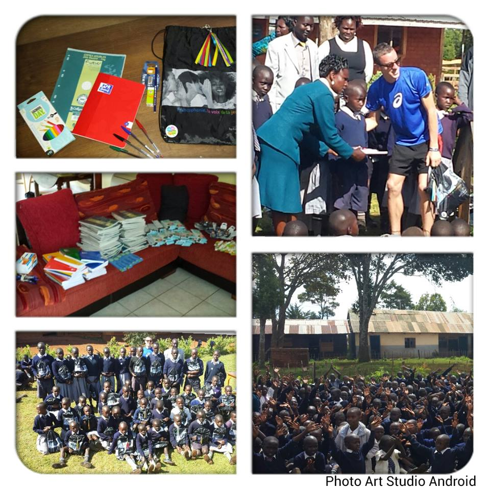 Notre parrain Yoann Kowal est au Kenya pour mêler sport et humanitaire!