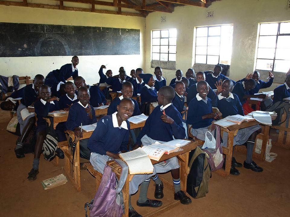 Avancement des travaux à l'ecole ITEN PRIMARY SCHOOL